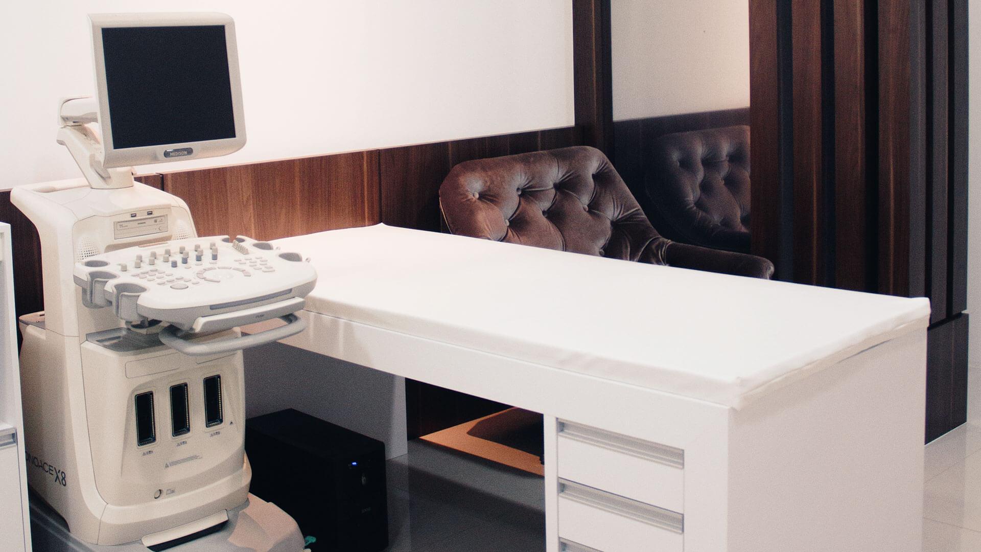 LGA Saúde sala ultrassonografia