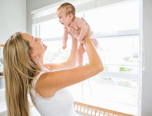 As emoções da mãe no período pós-parto